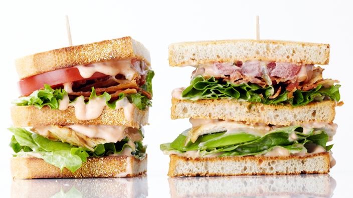 Grilled Chicken Club Sandwich | Bite Me More Blog