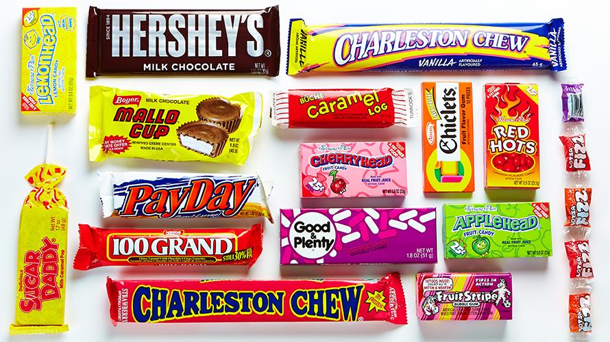 100 Grand Candy - Wonka Nerds Candy Strawberry Grape
